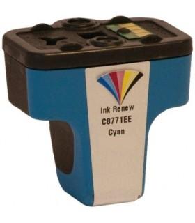 HP 363 XL CIAN Cartucho de tinta compatible cián para impresora hp 363 (c8771ee) 13ML