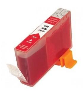 Cartucho tinta para impresora bci-6 r canon i990 - i9900 photo- i9950 photo - pixma ip 8500 rojo