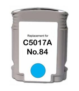 Hp 84 cartucho de tinta para impresora compatible CYAN CLARO C5017A