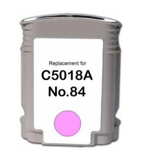 Hp 84 cartucho de tinta para impresora compatible MAGENTA CLARO C5018A