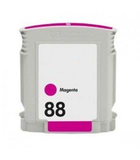 HP 88XL MAGENTA Cartucho de tinta para impresora hp 88XL MAGENTA compatible officejet pro series 28 ml. C9392A