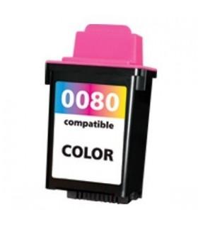 LEXMARK 80 COLOR cartucho compatible  LEXMARK 12A1980 COLOR 25ML (lexmark 80)