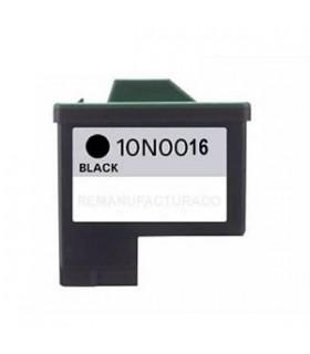 LEXMARK 16 NEGRO cartucho compatible Lexmark 16  z601, z602, z603, z605, z13, z23, z25, z33, z35, i3 ,x75, x1150, compatible