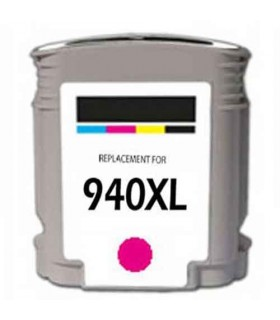HP 940XL MAGENTA Cartucho de tinta MAGENTA compatible hp 940xl 25ML c4908ae