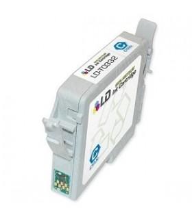 cartucho tinta para impresora epson stylus photo 950-960 cian compatible t0332