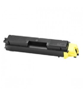 TK-590Y Toner Compatible Amarillo Kyocera para FS-C2026/FS-C2126/ FS-C5250 5000 pags