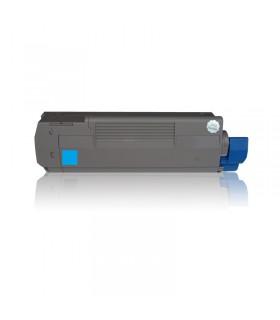 OKI C5600/C5700 CYAN tóner compatible  2000C.
