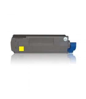 tóner compatible OKI C5600/C5700 AMARILLO 2000C.