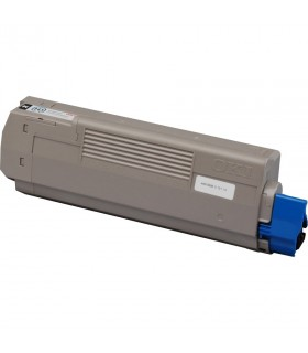 OKI C610 NEGRO toner compatible 8000 pags.