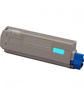 OKI C610 CIAN toner compatible 6000 pags.