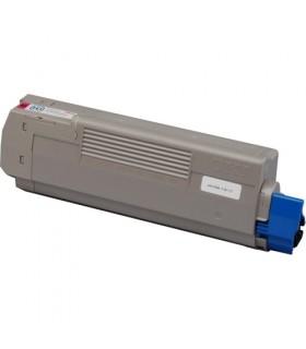 OKI C610 MAGENTA toner compatible 6000 pags