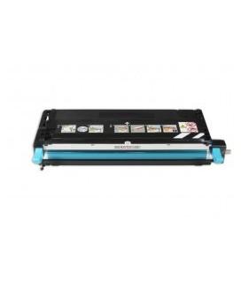 tóner compatible EPSON C2800 cián 6000C.