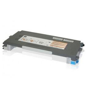 tóner compatible LEXMARK C500N/X500N/X502N cián 3000C.