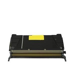 LEXMARK C520 / C522 / C524 / C530 / C532 / C534 AMARILLO tóner compatible   3000C.