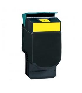 LEXMARK C540/c543/c544/X543/x544 AMARILLO tóner compatible   2000C.