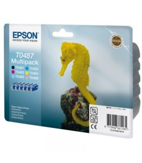Multipack 6 colores Epson T0487
