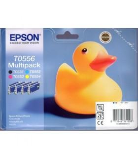 Epson t0556 Multipack  4 colores originales
