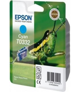 cartucho cián original Epson T0332
