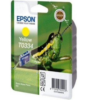 cartucho amarillo original Epson t0334