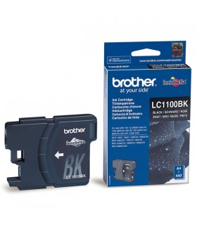 cartucho negro original Brother LC1100BK