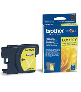 cartucho amarillo original Brother LC1100Y