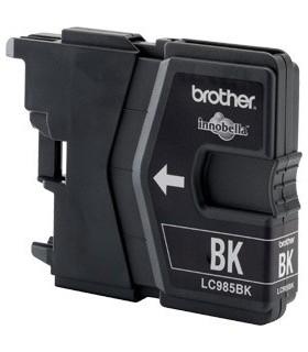 cartucho negro original Brother lc985bk