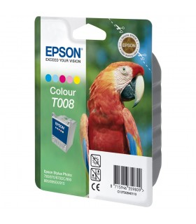 cartucho color original Epson T008