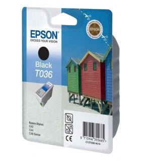 cartucho negro original Epson T036