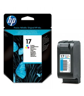 cartucho original color HP 17 C6625A