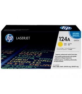 Hp q6002a laserjet color 1600/2600 series tóner original amarillo