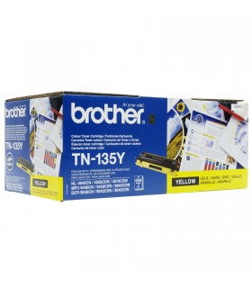 BROTHER TN-135Y TONER - HL 4040 CN, HL 4050 CDN - AMARILLO