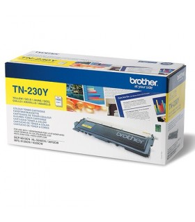 Toner original brother laser amarillo tn230y 1.400 páginas