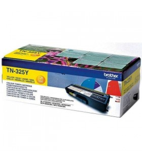 Brother toner laser amarillo original 3.500 paginas TN-325Y
