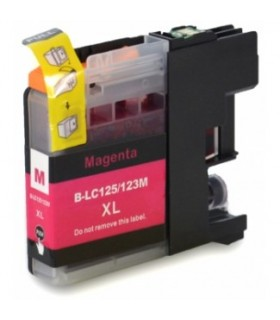 LC125M BROTHER MAGENTA cartucho compatible magenta Brother LC125M
