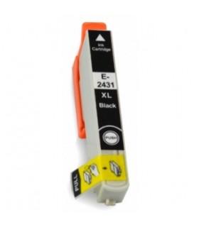 T2431 EPSON NEGRO cartucho compatible Negro Epson T2431 24XL Alta capacidad