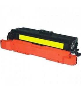 HP CE262A AMARILLO  tóner compatible  Laserjet CP4520 CP4525