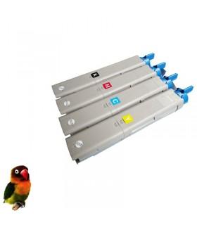 Pack 4 toners OKI C3300-C3400-C3450-C3600