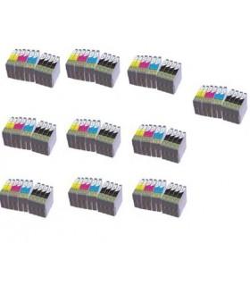 1-8 Cartuchos de Tinta Compatible Para Epson T-0711 T0712 T0713 T0714 SX DX BX 18