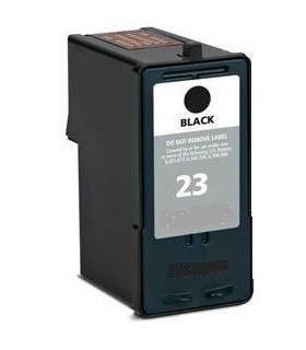 cartucho compatible negro Lexmark 23  018C1523E