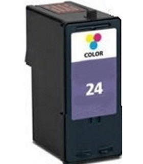 cartucho compatible color Lexmark 24 18C1524E