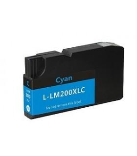 LEXMARK 200XL CIAN Cartucho de tinta compatible Lexmark 200xl CIÁN 14L0198
