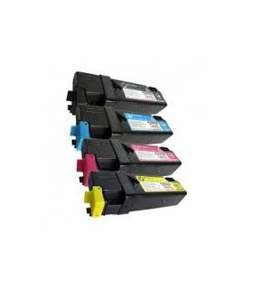 pack 4 toners compatibles Xerox Phaser 6130 (bk-c-m-y)