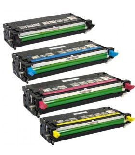 pack 4 toners Xerox Phaser 6180 compatibles (bk-c-m-y)