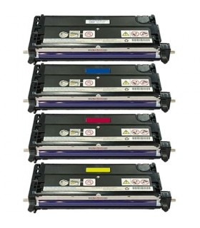 pack 4 toners compatibles Xerox Phaser 6280 (bk-c-m-y)
