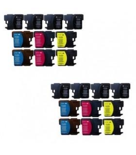 LC121 BROTHER pack 20 tintas Brother LC121 DCP J152W/J552DW/J752DW MFC J470DW/J650DW/J870DW
