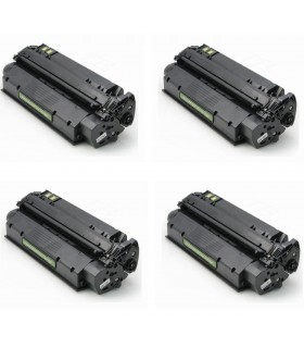 pack 4 Toner HP 13x Q2613X Nº13x Negro COMPATIBLE para HP LaserJet 1300