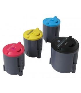 CLP-350/CLP-351 pack 4 tóners compatibles Samsung CLP-350 CLP-351 (bk-c-m-y)