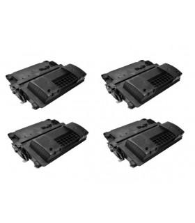 HP CE390X pack 4 tóner compatible  24000C. ENTERPRISE/600 M602N LASERJET M/4555MFP