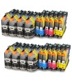 BROTHER LC-127 XL / LC-125 XL  PACK 20 cartuchos de tinta  compatibles