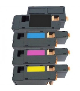 DELL 1250 / 1350 /1355 pack 4 toners COMPATIBLES  (bk-c-m-y)